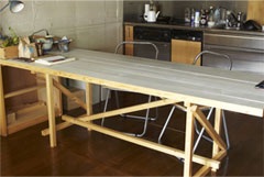 MaKeT 102 PLANK TOP TABLE